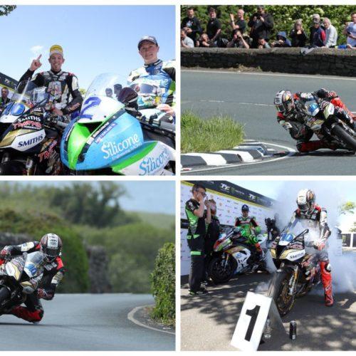 Triumph vence de forma categórica a histórica TT da Ilha de Man
