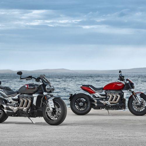 Triumph mostra novas Rocket 3R e Rocket 3GT