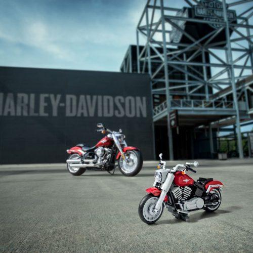 LEGO Creator lança Harley-Davidson Fat Boy toda ao detalhe