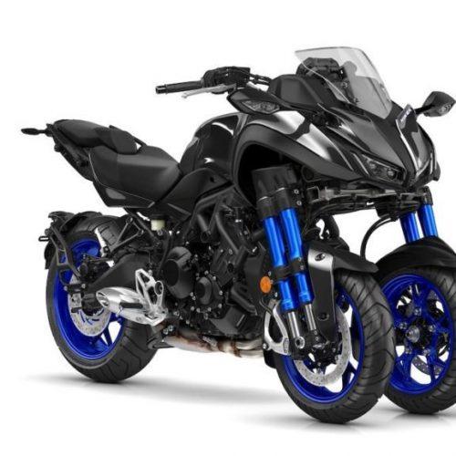 Yamaha Niken é a moto oficial da Volta a Portugal 2019