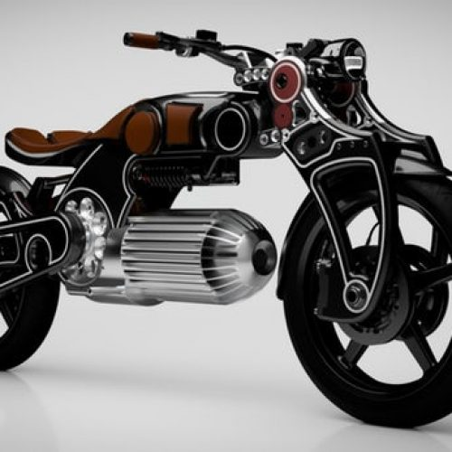Curtiss Motorcycles mostra mais uma elétrica superdesportiva