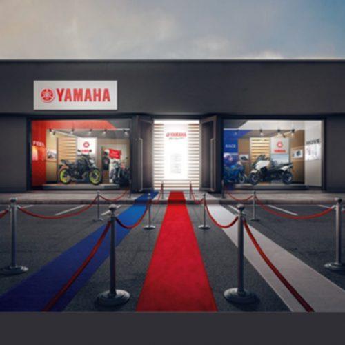 Concessionários Yamaha Motor com nova imagem