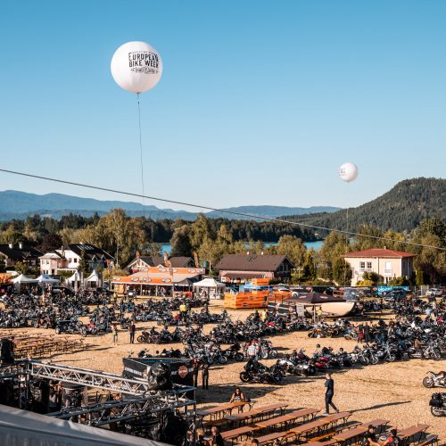 European Bike Week recebeu 120,000 fãs em Faaker See na Áustria