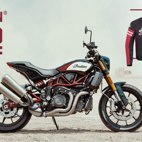 Indian Motorcycle oferece um blusão em troca de uma volta de moto