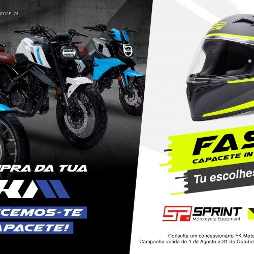 Sprint inicia campanha FK Motors