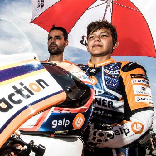 Kiko Maria pré-selecionado para a Red Bull Moto GP Rookies Cup