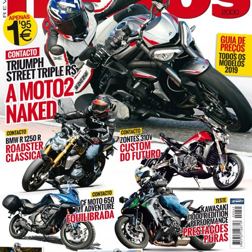 Revista Motos de novembro chega hoje às bancas