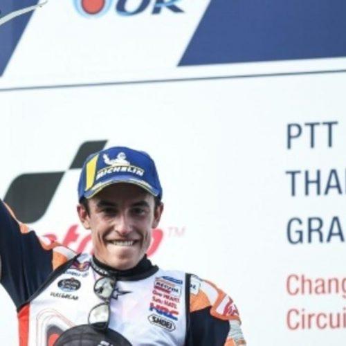 GP da Tailândia de sonho para Marc Marquez