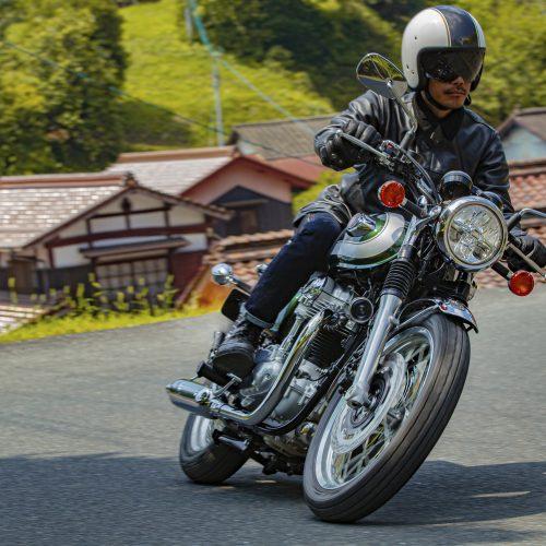 Nova Kawasaki W800 2020 já está à venda