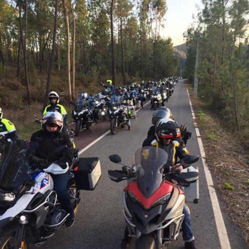 BMW Club Motorrad Fans Portugal junta motos em Tomar