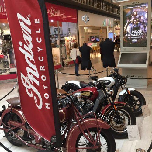 Indian tem exposição a decorrer no Cascais Shopping