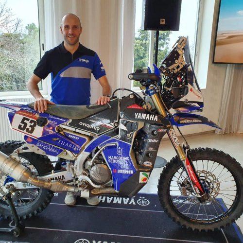 António Maio apresenta projeto para Dakar 2020