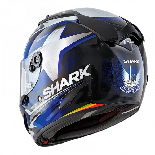 Nova edição do capacete Shark Race-R Pro Oliveira na lista da Lusomotos para esta época
