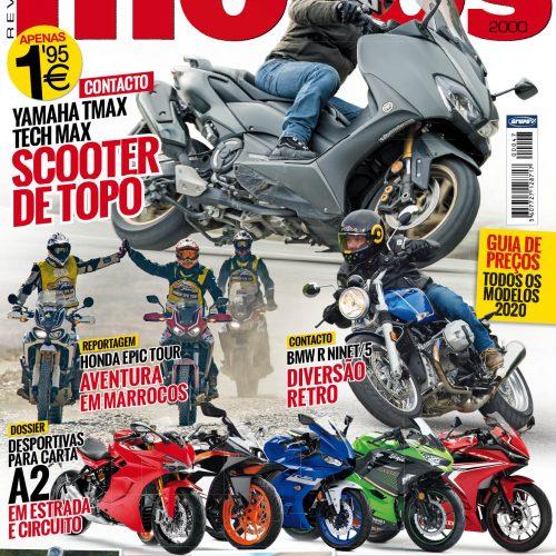 Revista Motos de janeiro já está nas bancas