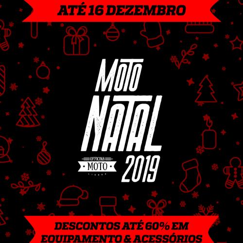 Lojas Moto Spazio e Officina Moto arrancam com Moto Natal