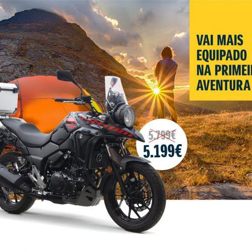 Suzuki V-Strom 250cc com mais equipamento e com preço promocional