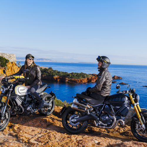 Nova Ducati Scrambler 1100 Just PROs