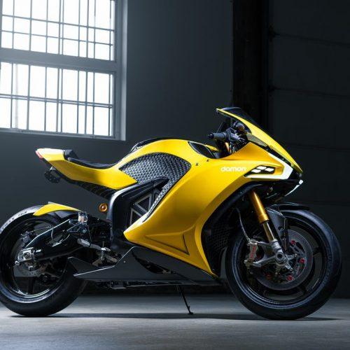 Damon Hypersport é uma moto elétrica com 200 CV
