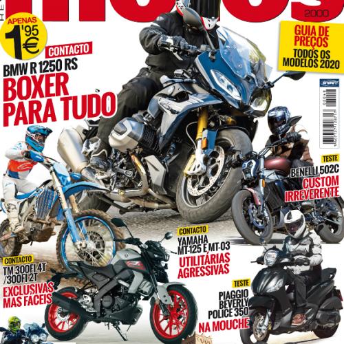 Revista Motos de fevereiro chega hoje à bancas