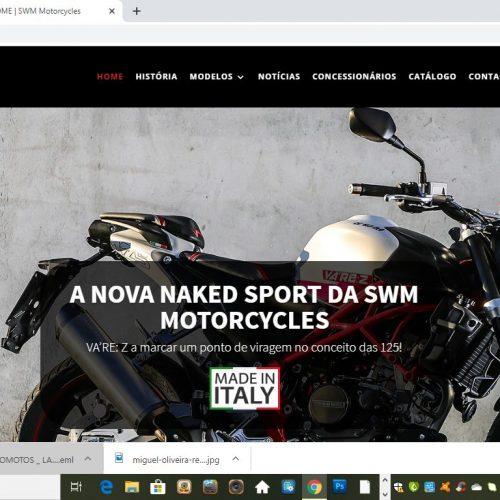 SWM Motorcycles lança novo site