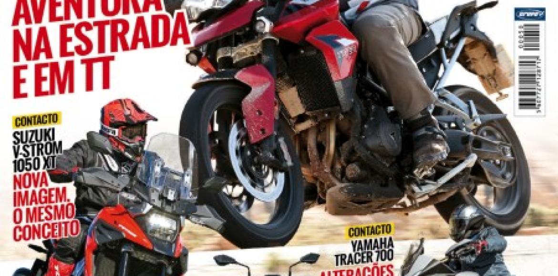 Revista Motos nº50 vai estar na bancas a partir de amanhã
