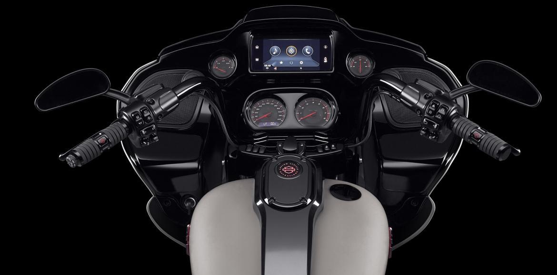 Gama Touring da Harley-Davidson equipada com Android Auto