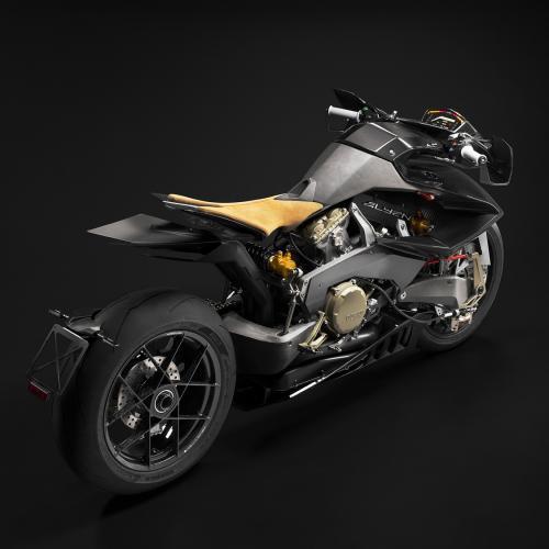 Chama-se Vyrus Alyen 988 e é uma Ducati vinda de outro mundo