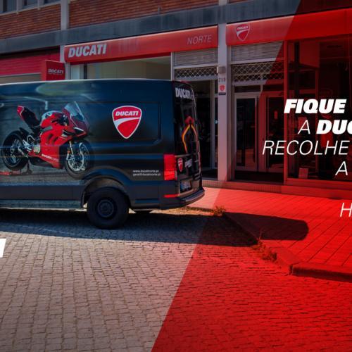 Ducati Norte tem serviço de recolha da sua Ducati