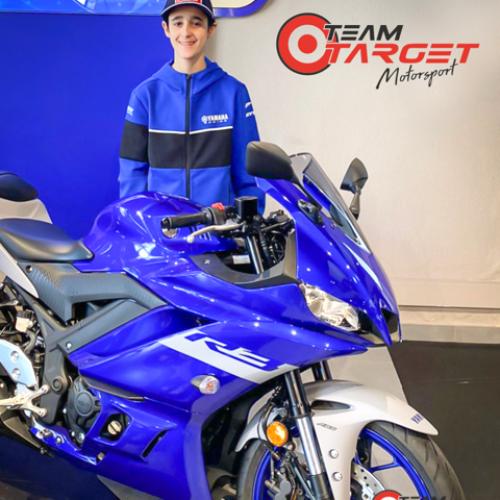Rodrigo Martins é aposta da Equipa Team Target na Classe de 300 cc