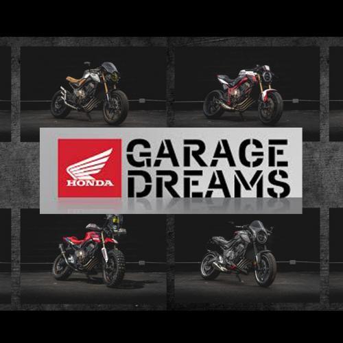 Honda organiza II Edição Ibérica do Concurso Garage Dreams