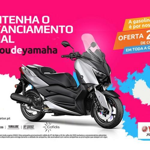 Yamaha NMAX oferece 200 euros de gasolina