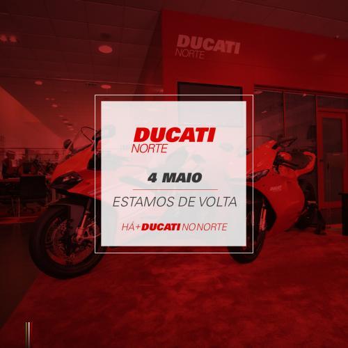 Ducati Norte vai voltar ao ativo na próxima semana