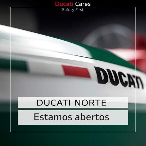 Ducati oferece prolongamento de garantia e atualizações gratuitas de software