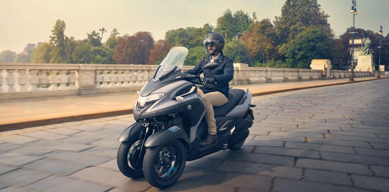 Yamaha revela o preço da nova Tricity 300