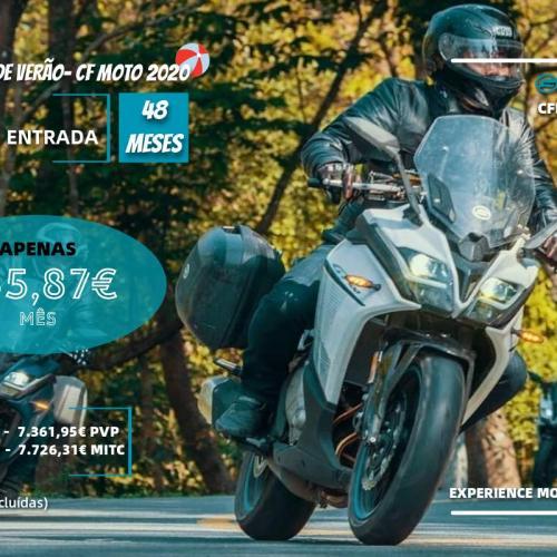 Nova campanha de aquisição de veículos CF Moto