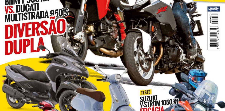 Revista Motos de julho chega amanhã às bancas