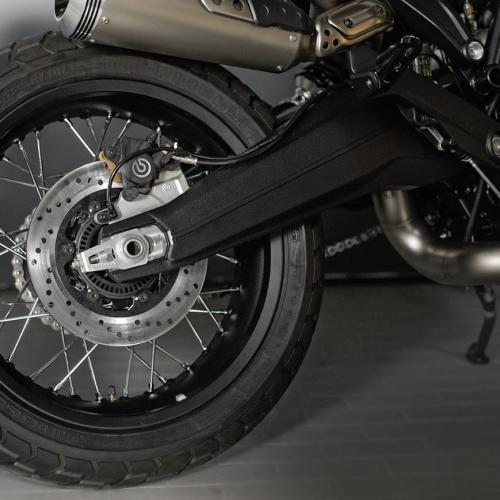 Acessórios originais Ducati Scrambler para personalização e estilo