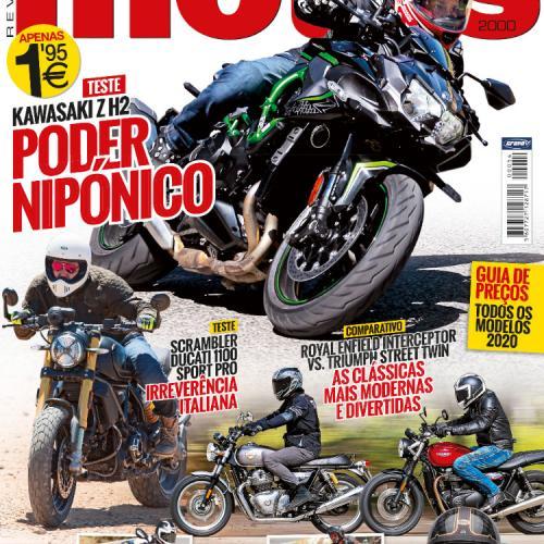 Revista Motos de setembro chega hoje às bancas de todo o país