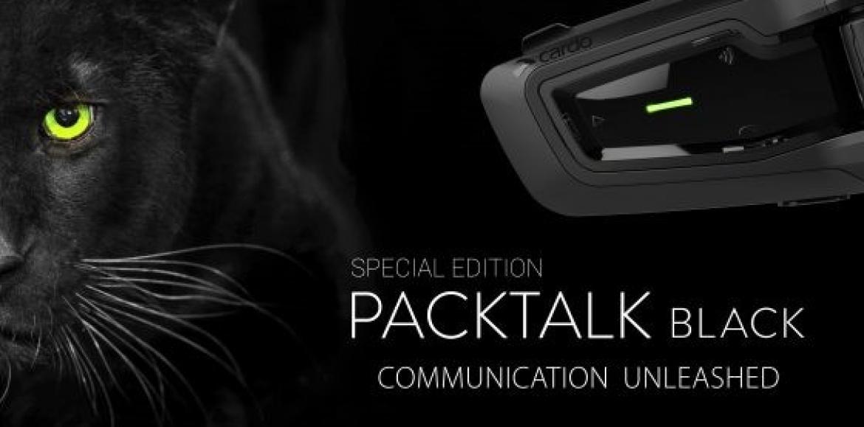 Cardo Systems lança a edição especial do intercomunicador PACKTALK BLACK
