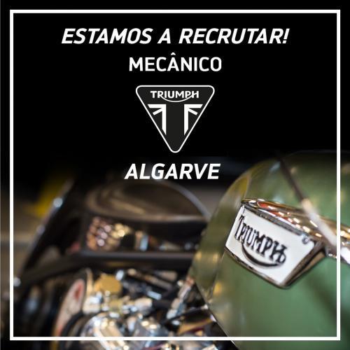 Triumph Algarve procura mecânico
