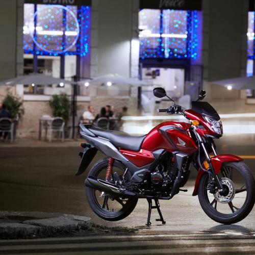 Honda apresenta nova CB125F para 2021