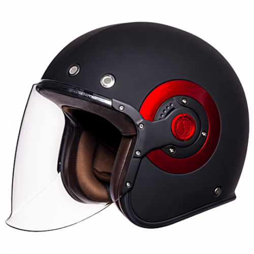 SMK Eldorado Jet é um capacete intemporal confortável e seguro