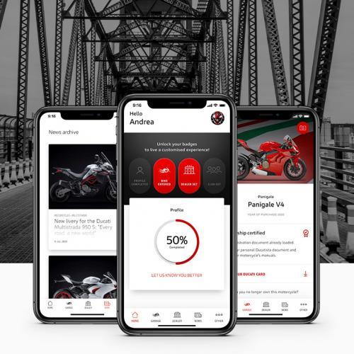 Ducati lança app MyDucati App