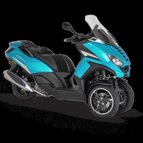 Peugeot apresenta nova scooter Metropolis