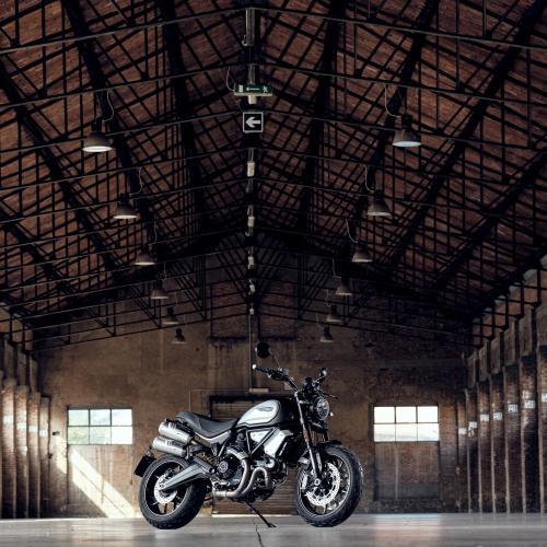 Dark é a nova versão da Ducati Scrambler 1100 PRO