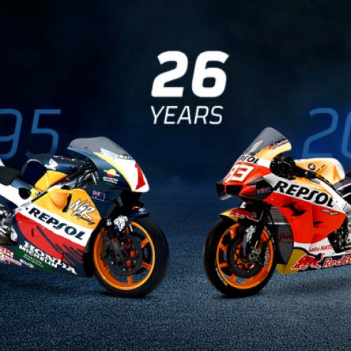 Repsol e Honda renovam aliança tecnológica no MotoGP até 2022