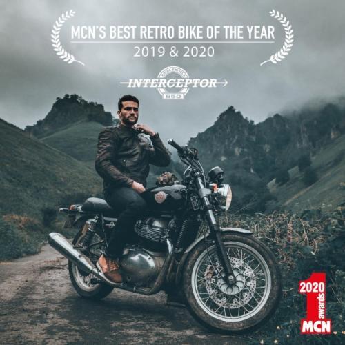Royal Enfield galardoada com o prémio da MCN para melho moto retro do ano