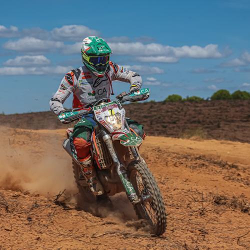 Mário Patrão no arranque do Campeonato de Rally Raid
