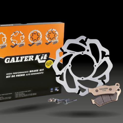 Novo Kit de travagem RWSX da Galfer