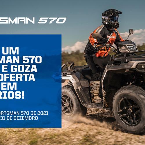Polaris lança campanha para o modelo Sportmans 570